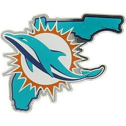 Miami Dolphins 4 Inch NFL Color Die-Cut Decal / Sticker *Fre