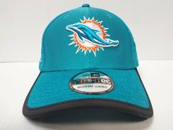 Miami Dolphins Cap New Era 39Thirty Stretch Fitted Hat 2017