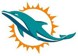 Miami Dolphins Decal ~ Car / Truck Vinyl STICKER - Cornhole,