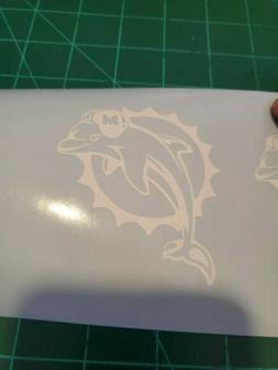 Miami Dolphins Die Cut Decal Perfect For Yeti Or Anything El
