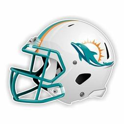 Miami Dolphins Football Helmet Decal / Sticker Die cut Logo