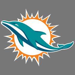 Miami Dolphins NFL Car Truck Window Decal Sticker Football L