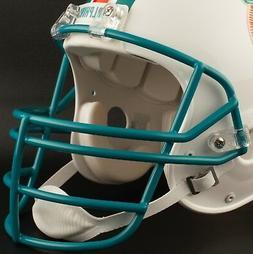 MIAMI DOLPHINS NFL Schutt JOP Football Helmet Facemask / Fac