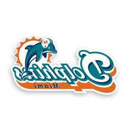Miami Dolphins Retro Precision Cut Decal Logo Vinyl Football
