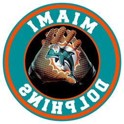 Miami Dolphins Vinyl Sticker Decal 9 Different Size Car Wind