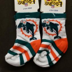 NFL Children Socks  Miami Dolphins #1-2