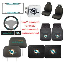 NFL Miami Dolphins Choose Your Gear Auto Accessories Officia
