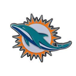 Fanmats NFL Miami Dolphins Diecast 3D Color Emblem Car Truck