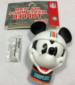 NFL Miami Dolphins Mickey Mouse Antenna Topper New Package D