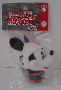 NFL Team Mickey Mouse  Antenna Topper Miami Dolphins New